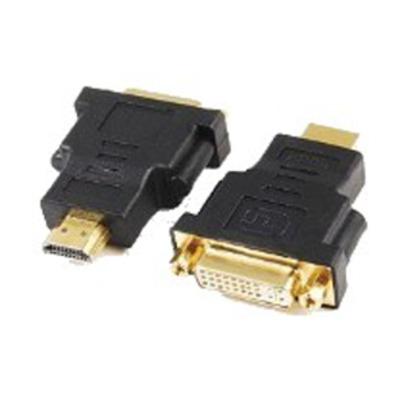 Gembird kabel adapter: HDMI - DVI, M/F - Zwart
