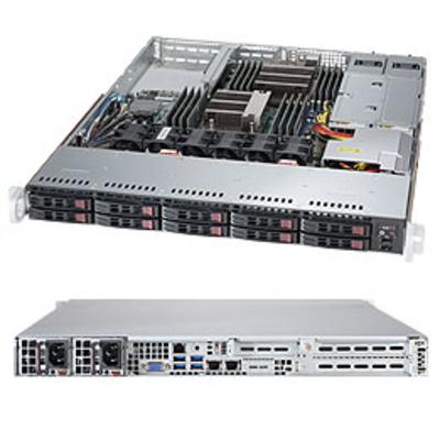 Supermicro 1028R-WTNRT Server barebone - Zwart