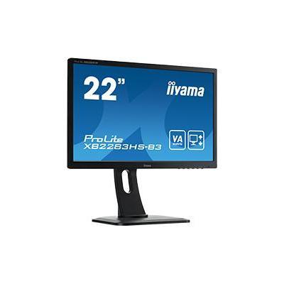 "Iiyama ProLite XB2283HS-B3 22"" Full HD VA - Business Monitor - Zwart"