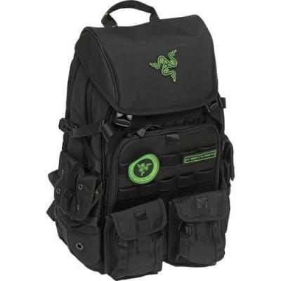 Razer laptoptas: Tactical Pro - Zwart, Groen