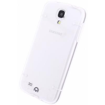 Mobilize Hybrid Case Transparent Samsung Galaxy S4 I9500/I9505 White Mobile phone case - Transparant, Wit