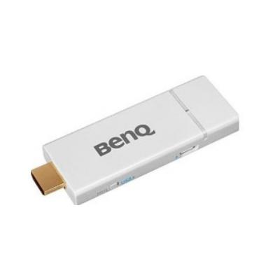 Benq AV extender: Qcast dongle (Miracast), 1280x720, 1080p, HDMI/MHL, WPA/WPA2 - Wit