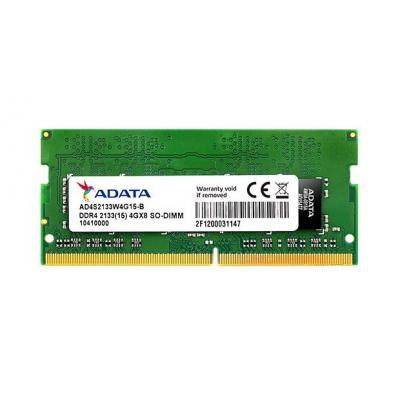 Adata RAM-geheugen: 8GB DDR4 SO-DIMM 8GB 2133 (15)
