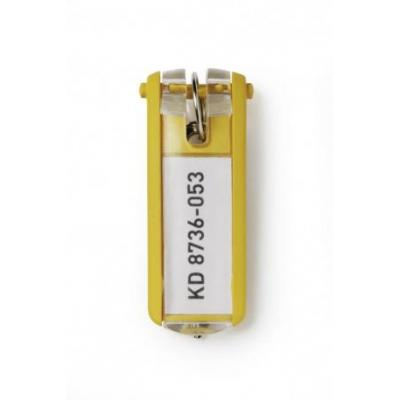 Durable sleutehanger: Key Clip - Geel