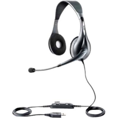 Jabra headset: UC VOICE 150 duo - Grijs
