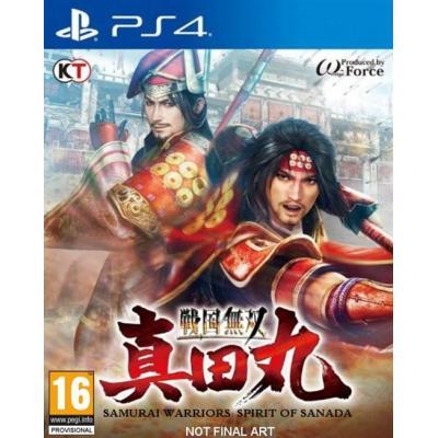 Tecmo koei game: Samurai Warriors: Spirit of Sanada  PS4