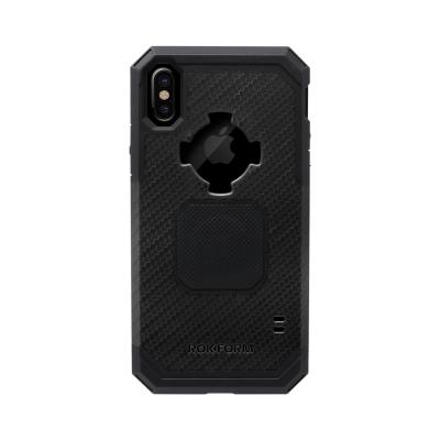 Rokform iPhone XS/X, Polycarbonate, Black Mobile phone case - Zwart