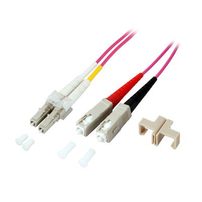 EFB Elektronik LC-SC 50/125µ Fiber optic kabel