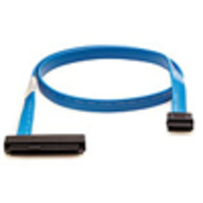Hewlett Packard Enterprise HP 15 Position 24in SFP Battery Cable Assembly Kabel - Blauw