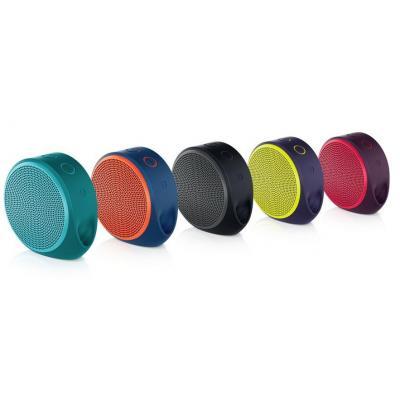 Logitech draagbare luidspreker: X100 Mobile Speaker - Zwart, Rood