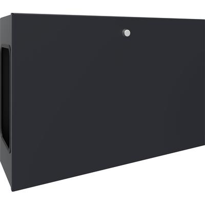 SmartMetals Computer kast for 062.7600/.7650/.7205 (max. 15 kg 540x176x358) Montagekit - Zwart