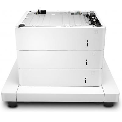 HP LaserJet 3x550-sheet papierinvoer met kast Papierlade - Wit