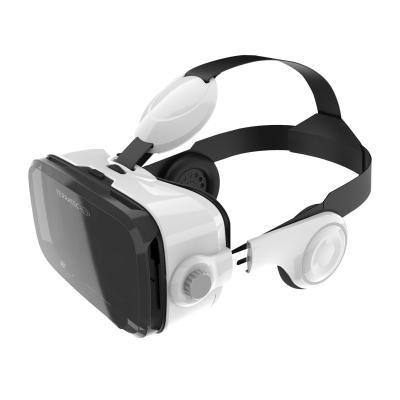 Terratec virtual reality bril: VR-2 - Zwart, Wit