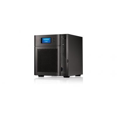Lenovo NAS: TotalStorage Series EMC px4-400d - Zwart