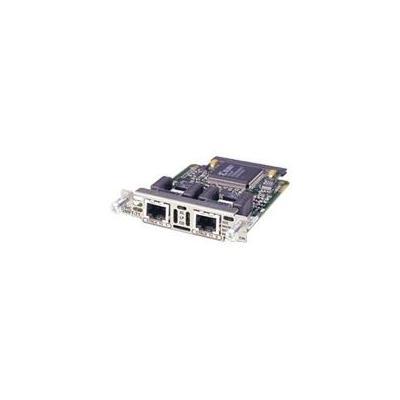 Cisco switchcompnent: 2-Port RJ-48 Multiflex Trunk - E1 with drop & insert (Open Box)