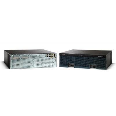 Cisco router: 3925 - Zwart