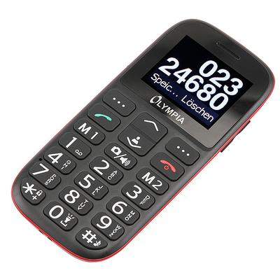 Olympia Bella Mobiele telefoon - Zwart