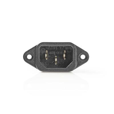 Nedis PCGP11950B Elektrische stekker - Zwart