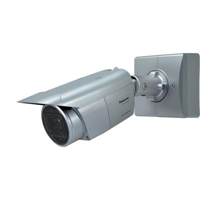 Panasonic 1/2.8 CMOS, 5MP, 30 fps, f=2.9-9mm, F1.3, IP66, PoE, 12V DC Beveiligingscamera - Grijs
