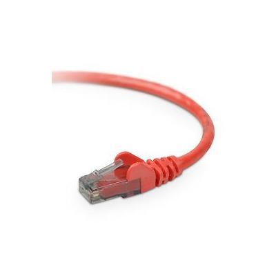 Belkin netwerkkabel: CAT6 Snagless 2m - Rood
