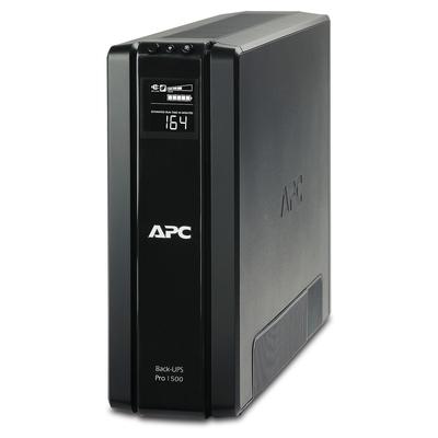 APC Back-PRO 1500VA noodstroomvoeding 6x stopcontact, USB, uitbreidbare runtime UPS - Zwart