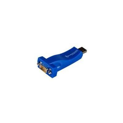 Brainboxes interfaceadapter: USB to Serial 1 Port RS422/485 - Blauw
