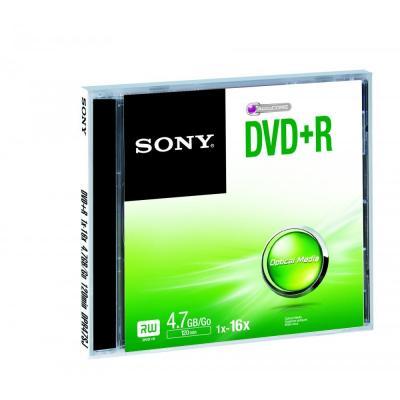 Sony DVD: DVD+R 16x, 4.7 GB