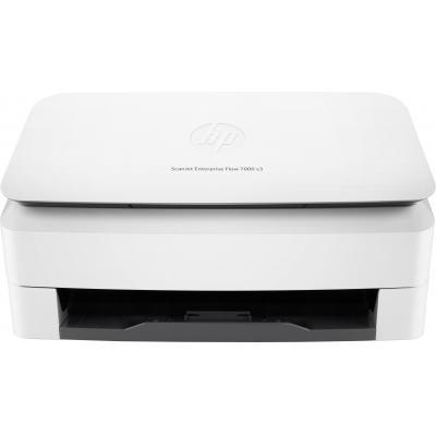Hp scanner: Scanjet ScanJet Enterprise Flow 7000 s3 scanner met documentinvoer - Wit
