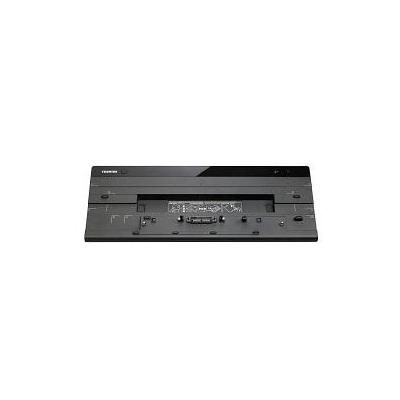 Toshiba docking station: Hi-Speed Port Replicator III  - Zwart