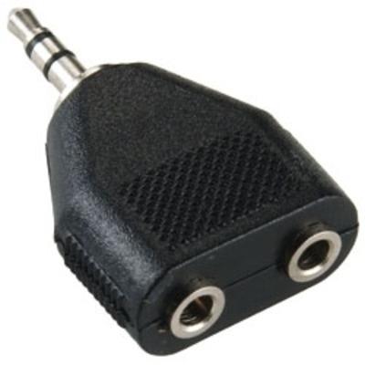 Bandridge BAP424 Kabel adapter - Zwart