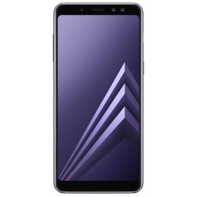 Samsung smartphone: Galaxy A8 (2018) - Grijs