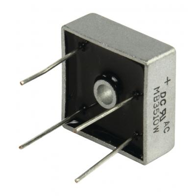 Dc components component: Bridge rectifier square wire