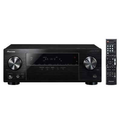 Pioneer reciever: 5.1-kanaalsontvanger met 5x130 watt, 4 HDMI-ingangen, HDCP 2.2, MCACC automatische kalibratie, .....