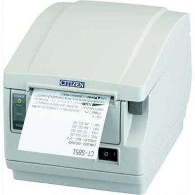 Citizen CT-S651II Pos bonprinter - Wit