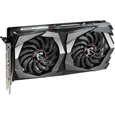 MSI GeForce GTX 1650 D6 GAMING X Videokaart - Zwart