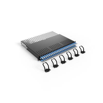 PATCHBOX ® 365 Cat.6a (STP, Blue, 0.8m / 8RU) Netwerkkabel - Blauw