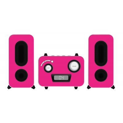Bigben interactive reciever: Big Ben, HiFi Micro System CD / Radio (Roze)