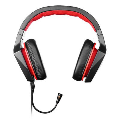 Lenovo GXD0J16085 Headset - Zwart, Rood