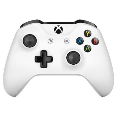 Microsoft game controller: Bluetooth, 3.5mm, 2xAA, white - Wit