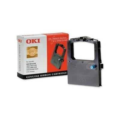 OKI printerlint: RC 100 Lint zwart 1000pagina's voor de MicroLine 182 192 193 280 3(3)20 3(3)21