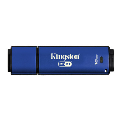 Kingston Technology DataTraveler Vault Privacy 3.0 Anti-Virus 16GB USB flash drive - Blauw