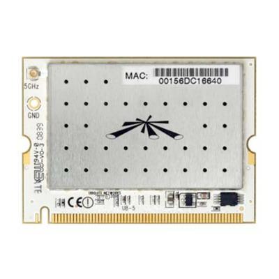 Ubiquiti Networks UB5 802.11a 5GHz 32-bit mini-PCI Type IIIB 3.3VDC Netwerkkaart