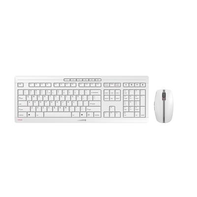 CHERRY Stream Desktop - QWERTY Toetsenbord - Grijs