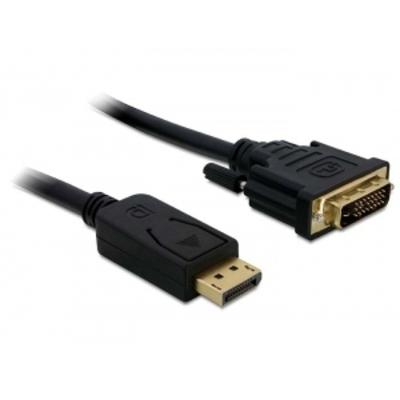 DeLOCK Displayport > DVI 24+1 St/St 2m