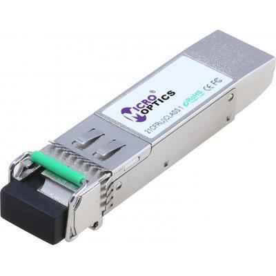 MicroOptics SFP+ 10G BX-U Tx1270/Rx1330nm Netwerk tranceiver module