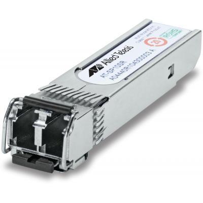 Allied Telesis 10GBASE-SR, 850nm, MMF, 300m, I-Temp Netwerk tranceiver module - Metallic