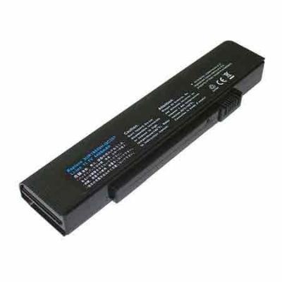 Acer batterij: 6 Cell 4800mAh - Zwart