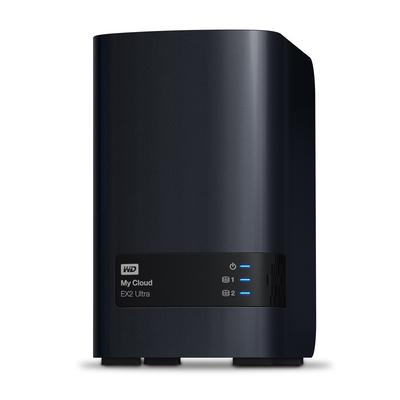 Western Digital My Cloud EX2 Ultra NAS - Zwart