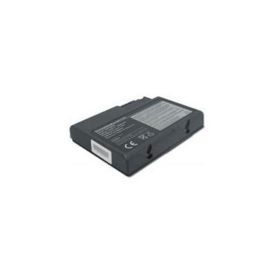 Acer batterij: BT.00607.004, Refurbished battery for Aspire 5101, Li-ion, 6-cell, 4000mAh, black - Zwart