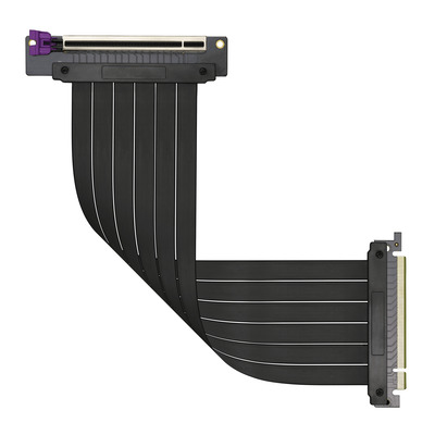 Cooler Master MasterAccessory - Riser Cable PCI-E 3.0 x16 (300mm) Kabel adapter - Zwart